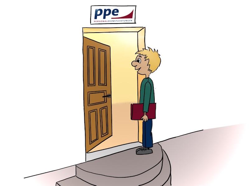 PPE Personaldienstleistungen München - Angebot für Bewerber